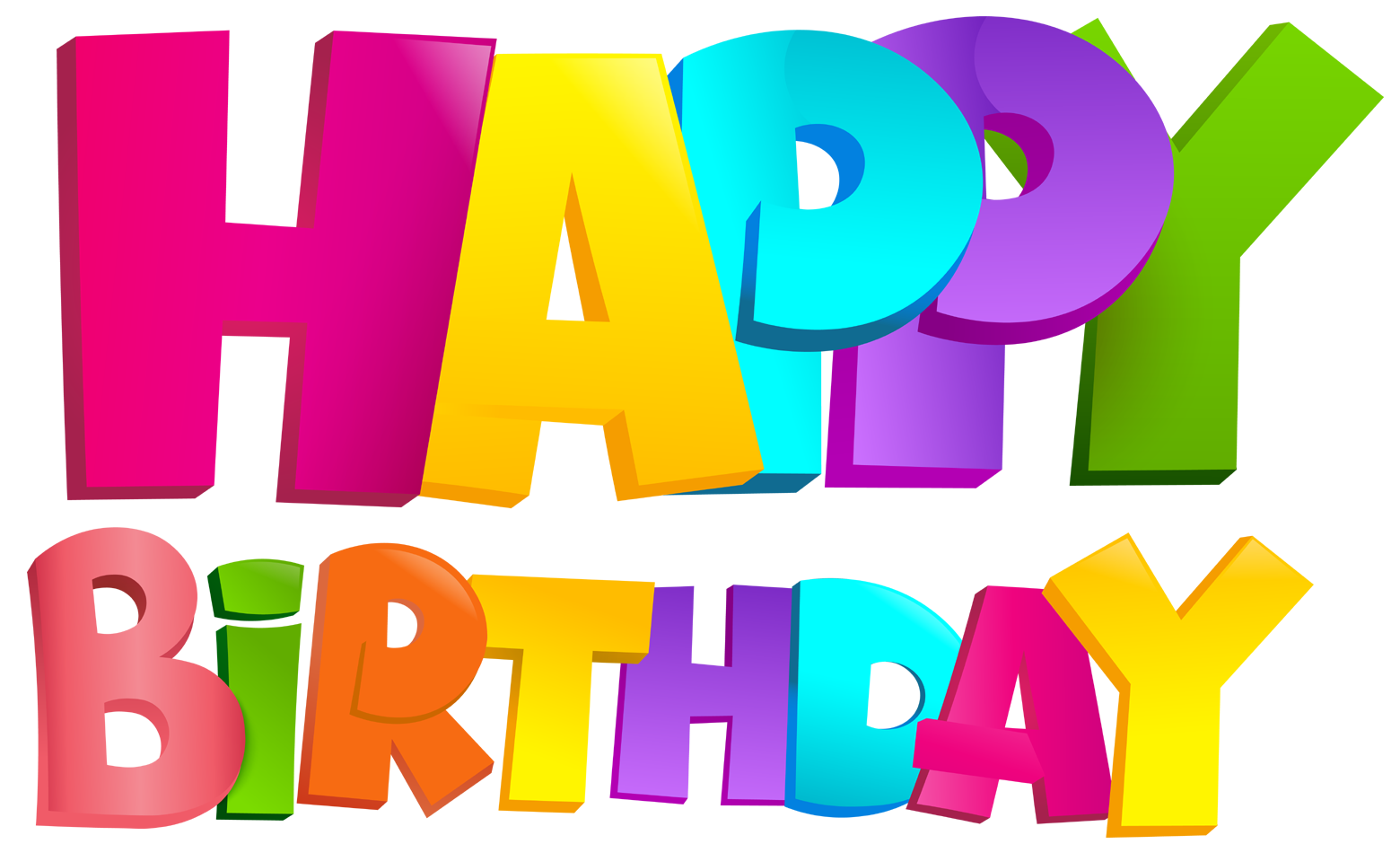 Happy birthday png text. D art free imges