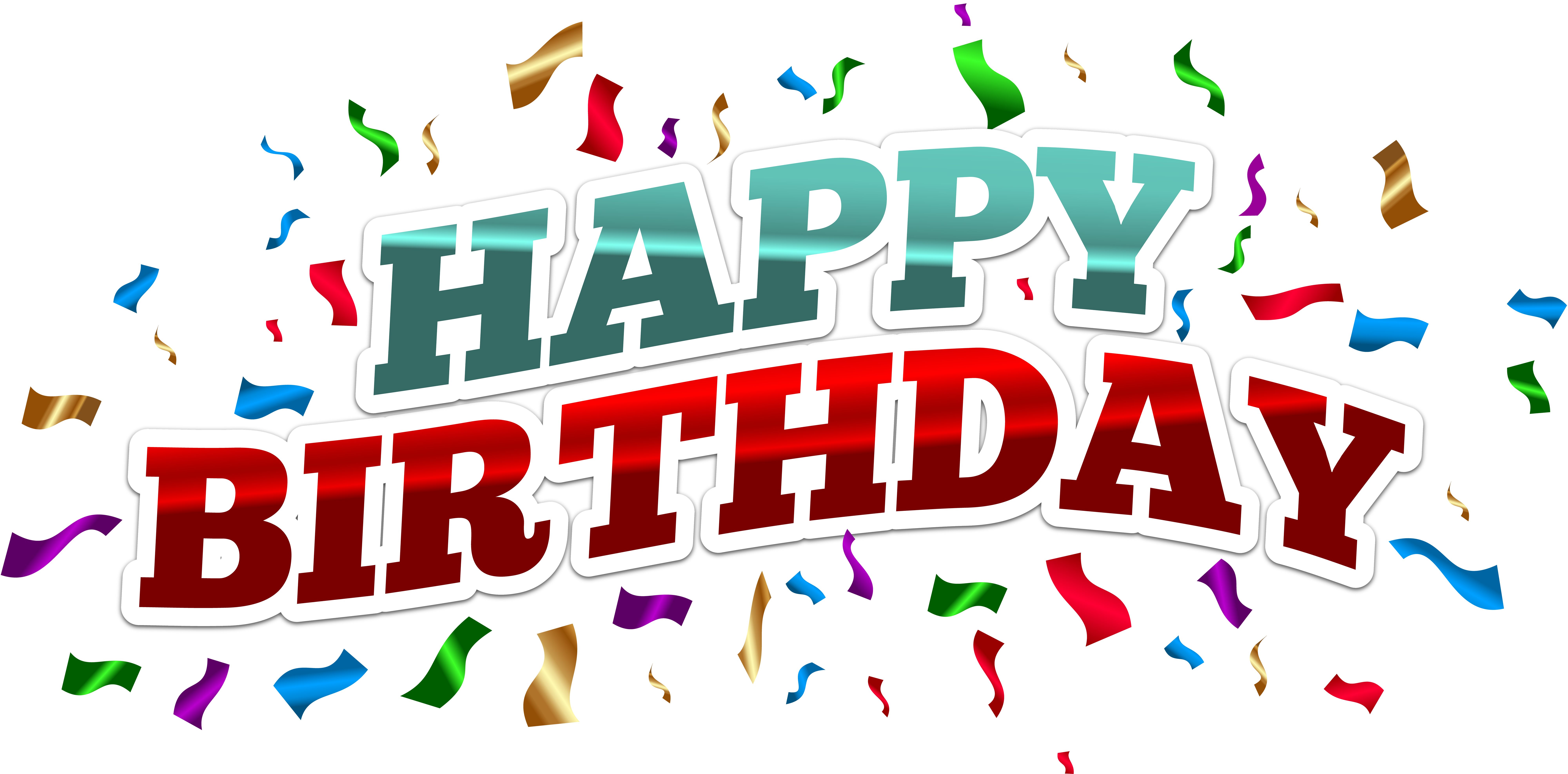 Happy birthday png text. Free hd graphics transparent