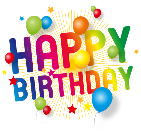 Happy birthday png transparent. Images free download