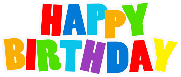 Happy birthday png transparent. Gallery