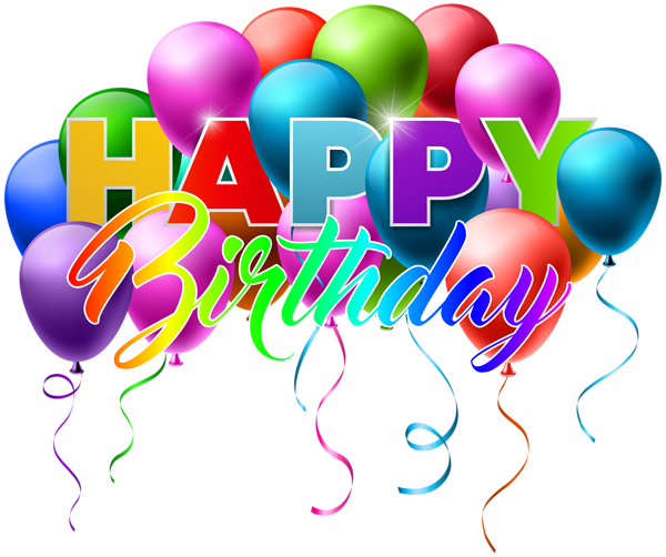 Birthday images png. Happy transparent clip art