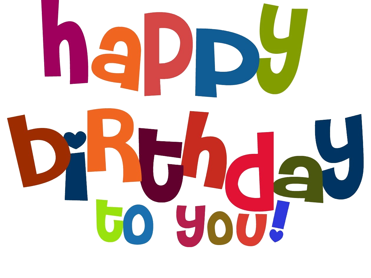 Happy birthday png transparent background. Images free download