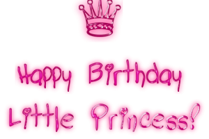 Happy Birthday Princess Transparent PNG Clipart Free Download