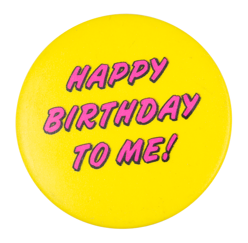 Busy beaver button museum. Happy birthday to me png svg black and white