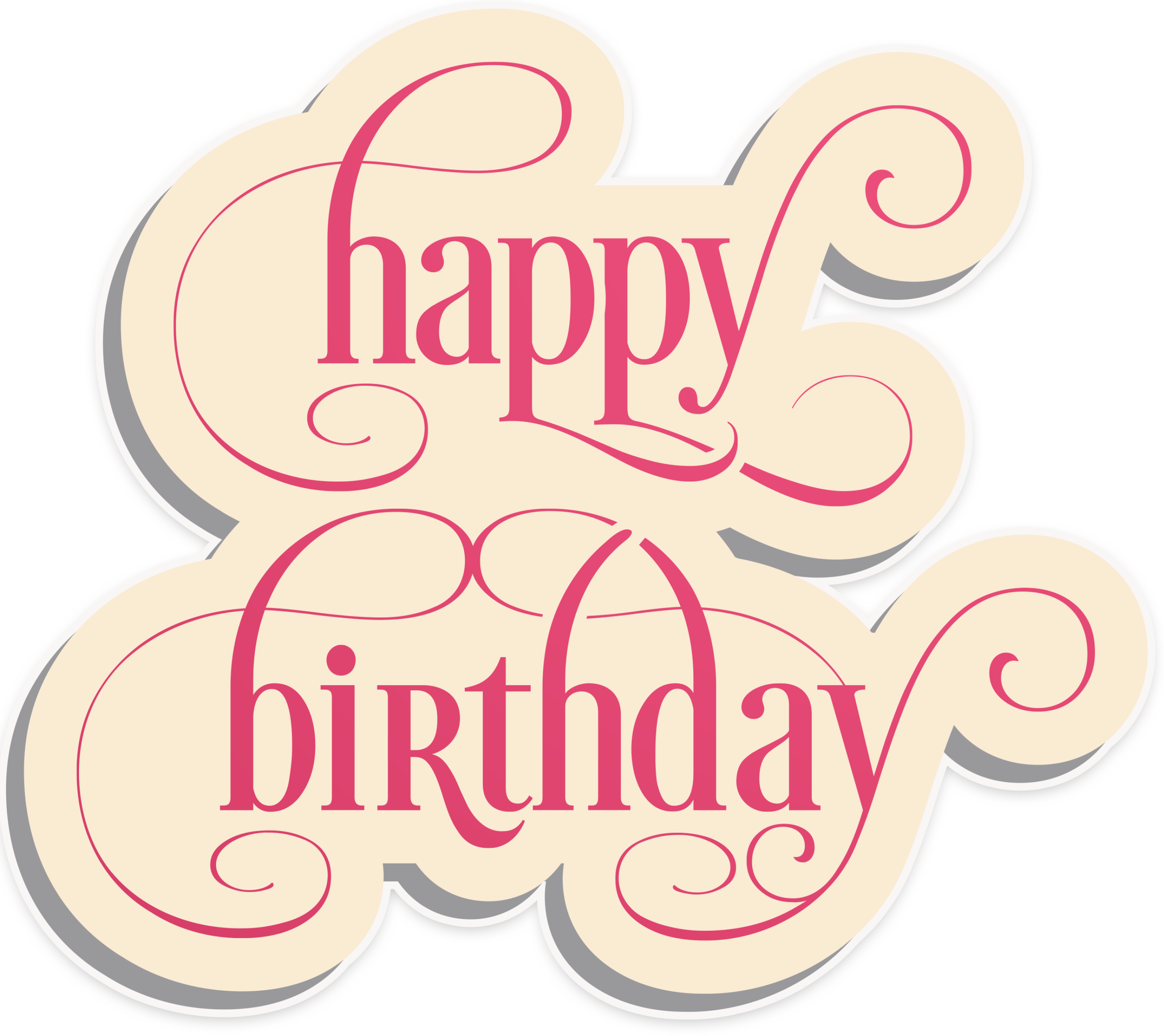 Happy birthday vintage png. Family ideas
