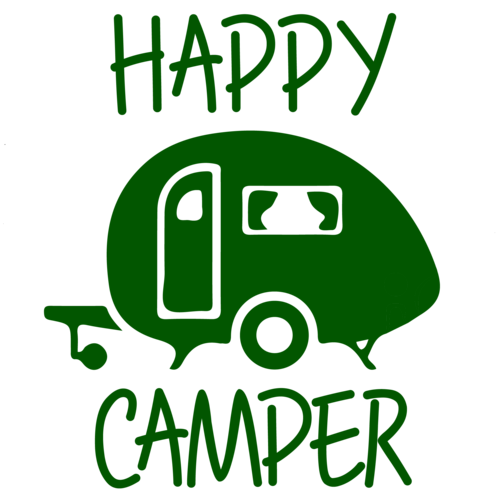 Happy camper png. Funny rv camping t