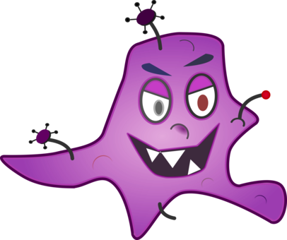 Happy clipart bacteria. April shower animation download