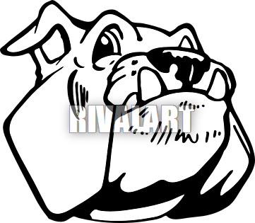 Happy clipart bulldog. Head panda free images