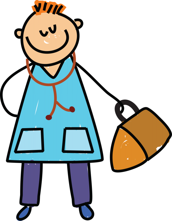 Happy clipart doctor. Picture for kids clip
