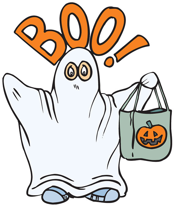 Happy clipart october. Ghost pic panda free
