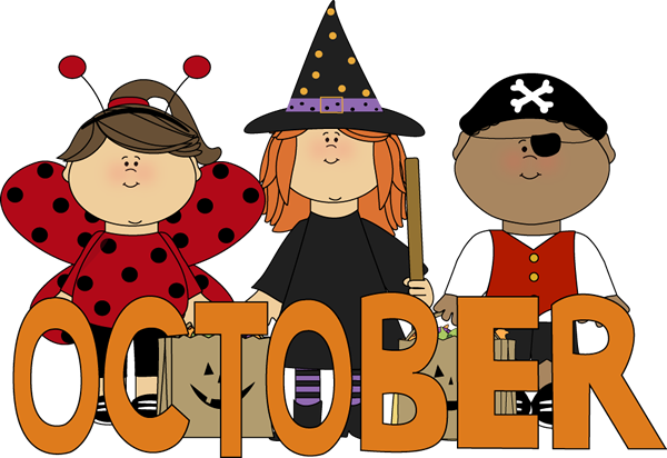 October clipart boarder. Hello images quotes