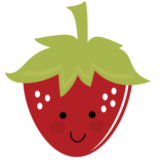 Happy clipart strawberry. Cute large panda free