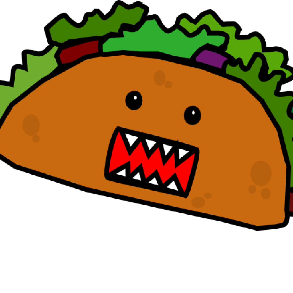 Taco for free download. Tacos clipart illustration vector transparent download