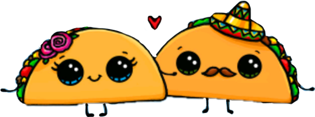 Happy clipart taco.