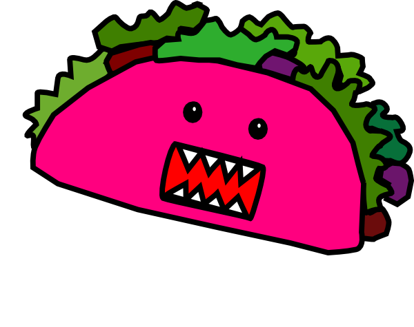 Happy clipart taco. Free tacos cliparts download