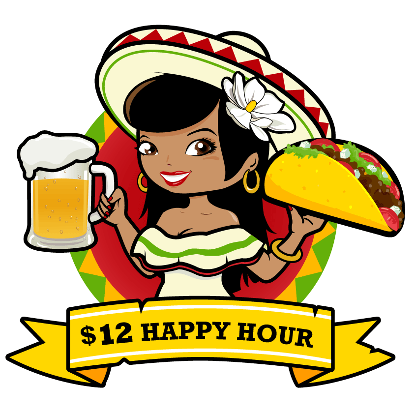 Happy clipart taco. Free picture of a