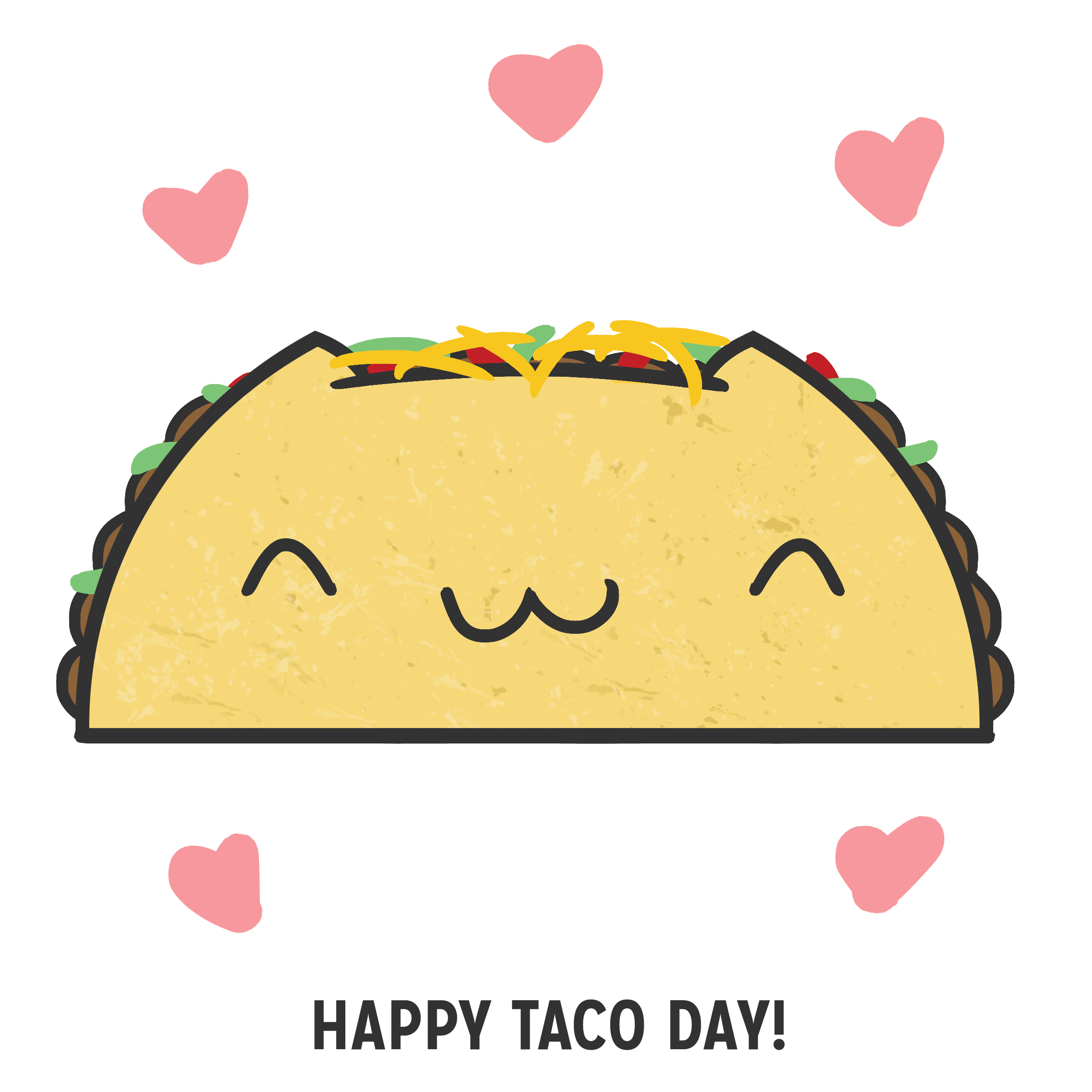 Happy clipart taco. Drawing at getdrawings com
