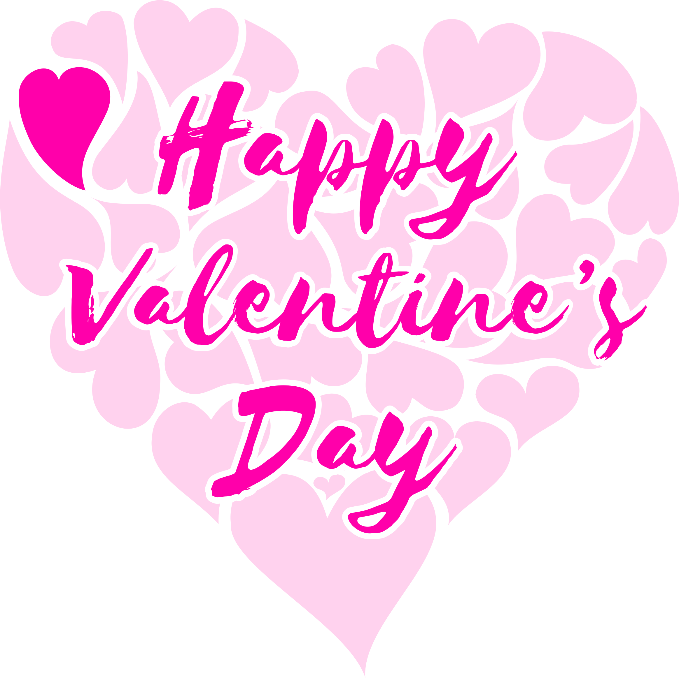Happy clipart valentine. S day title with
