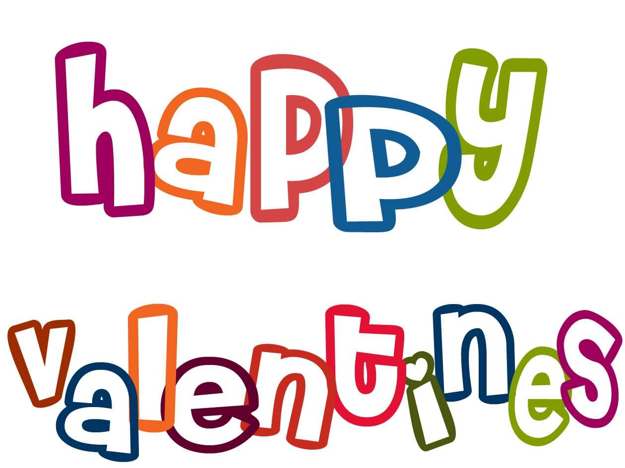 Happy clipart valentine. Valentines day at getdrawings