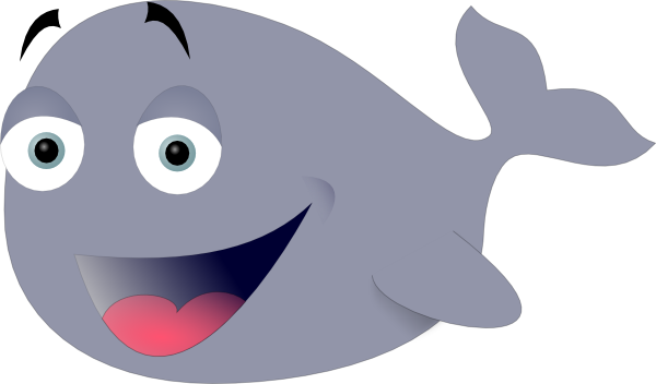 Happy clipart whale. Free cartoon whales pictures