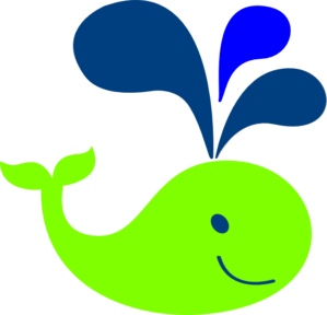 Happy clipart whale. Baby