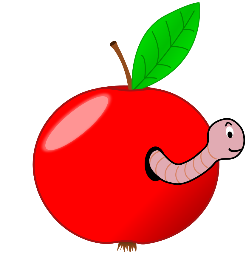 Happy clipart worm. Free pictures of cartoon