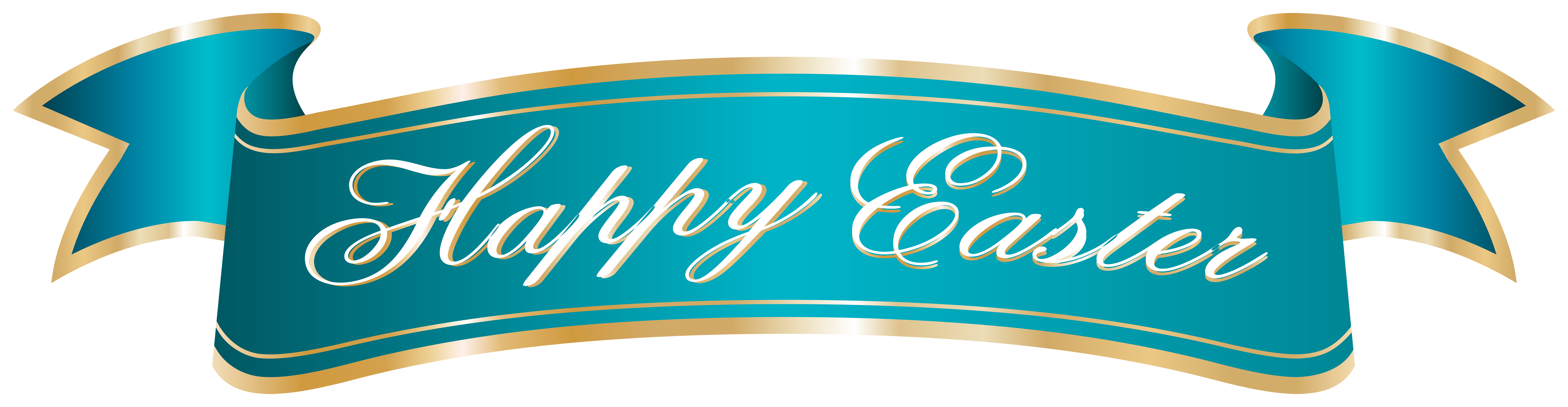 Happy easter clipart green. Banner png clip art