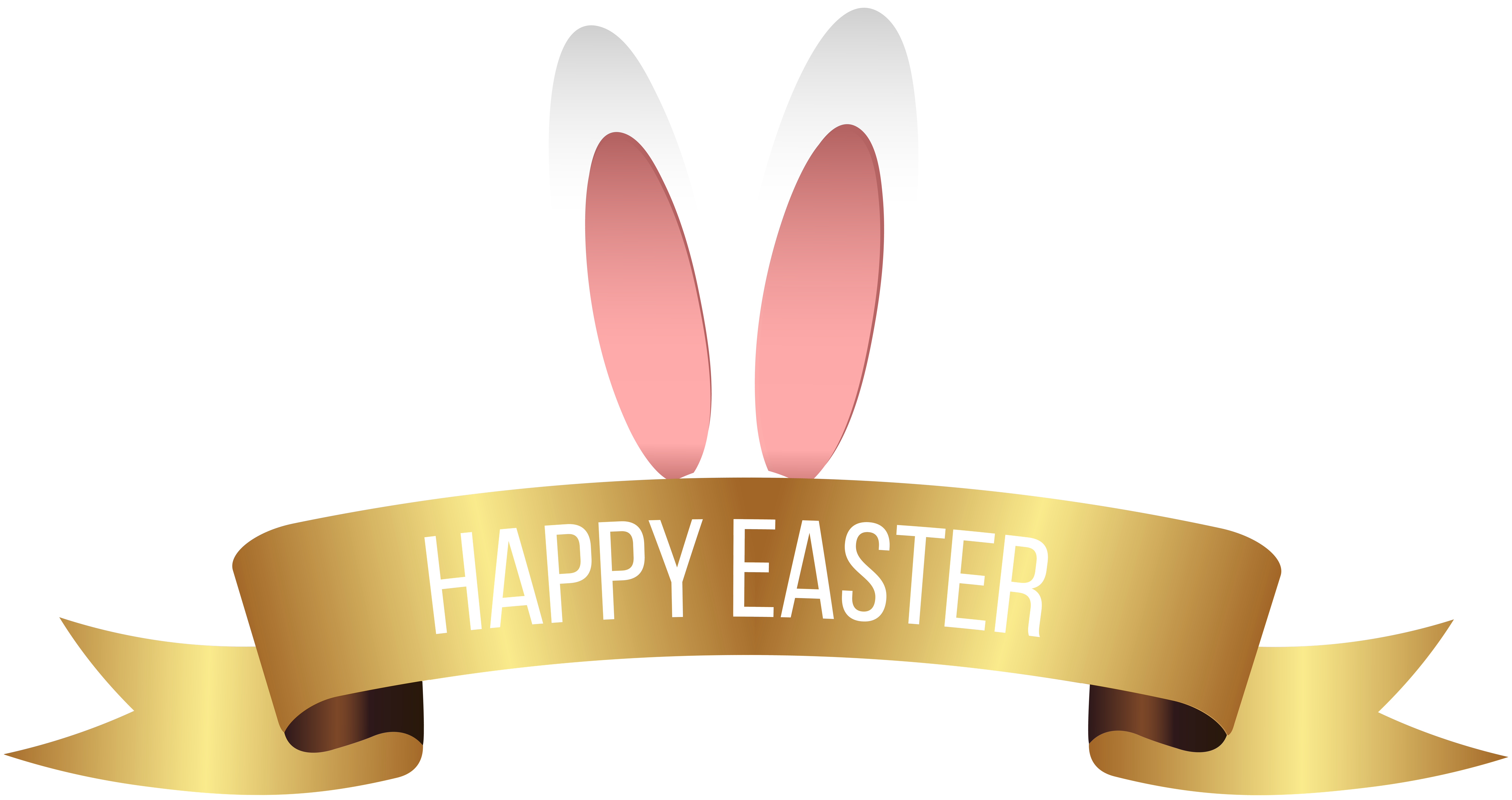 Happy easter banner png. Transparent clip art gallery