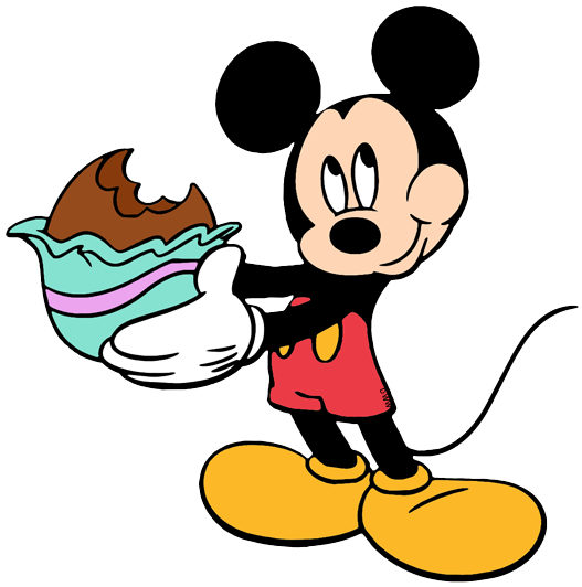 Happy easter clipart mickey mouse. Disney clip art galore