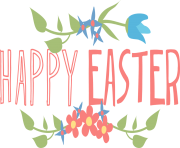 Happy easter clipart transparent. Png free images text
