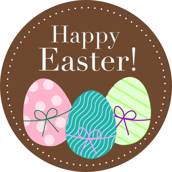 Happy easter png. Clipart transparent stickpng