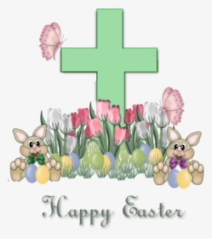 Happy easter png cross. Transparent image free download