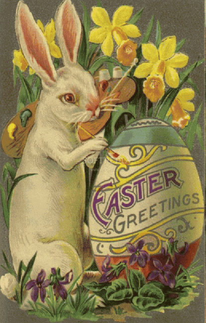 Happy easter png vintage. Blossom style inspiration by