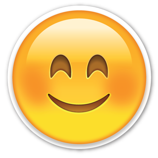 Happy emoji png. Smiling face with eyes