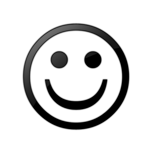 PNG Happy Face Black And White Transparent Happy Face Black And