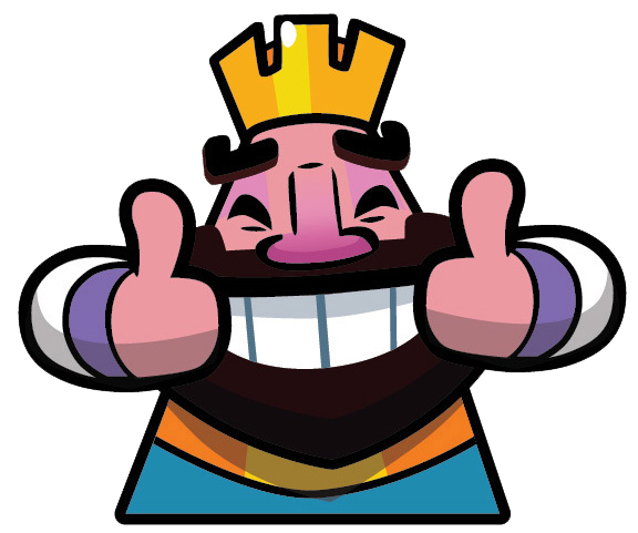 Clash royale king png. Image happy face wiki