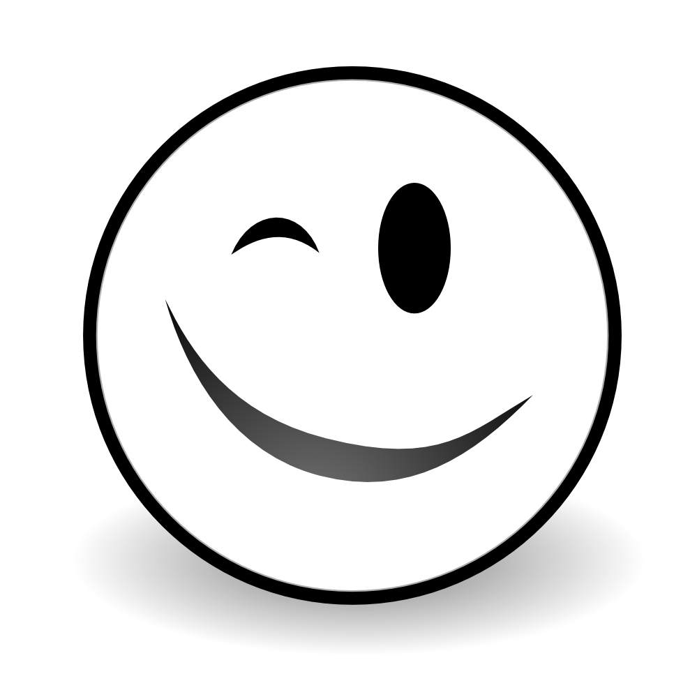 Happy face png black and white. Apple smiley with hands