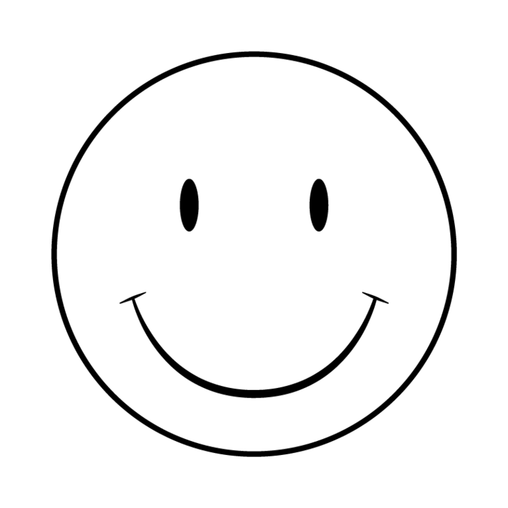 Happy face png black and white. Collection of smiley