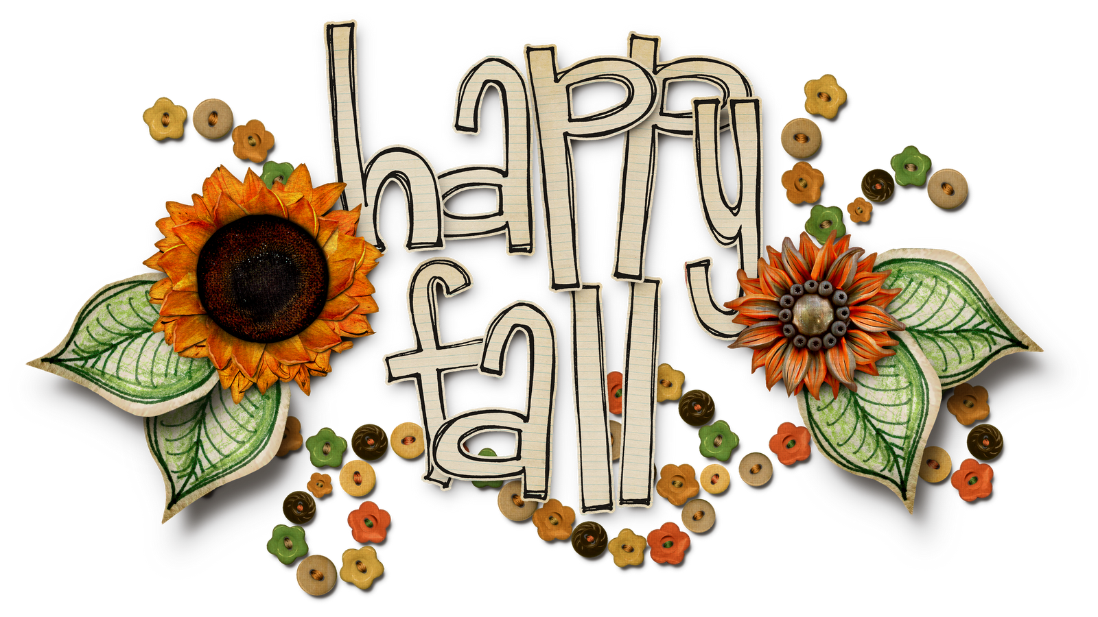 Autumn clipart autumn word. Fall day clip art