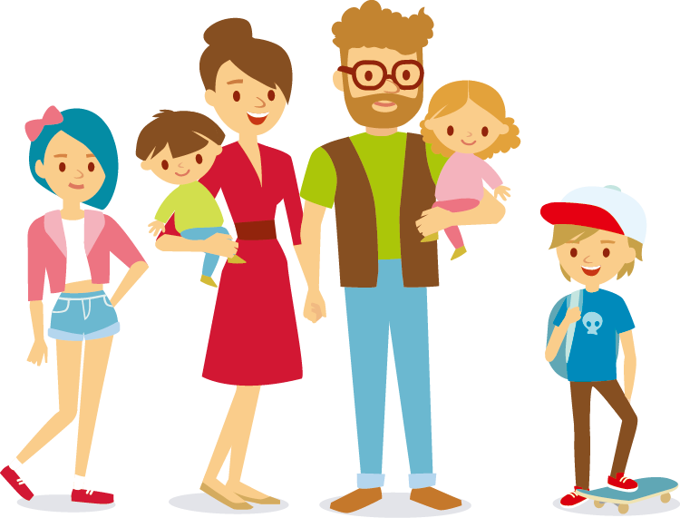 Happy family clipart png. Cartoon stock photography clip