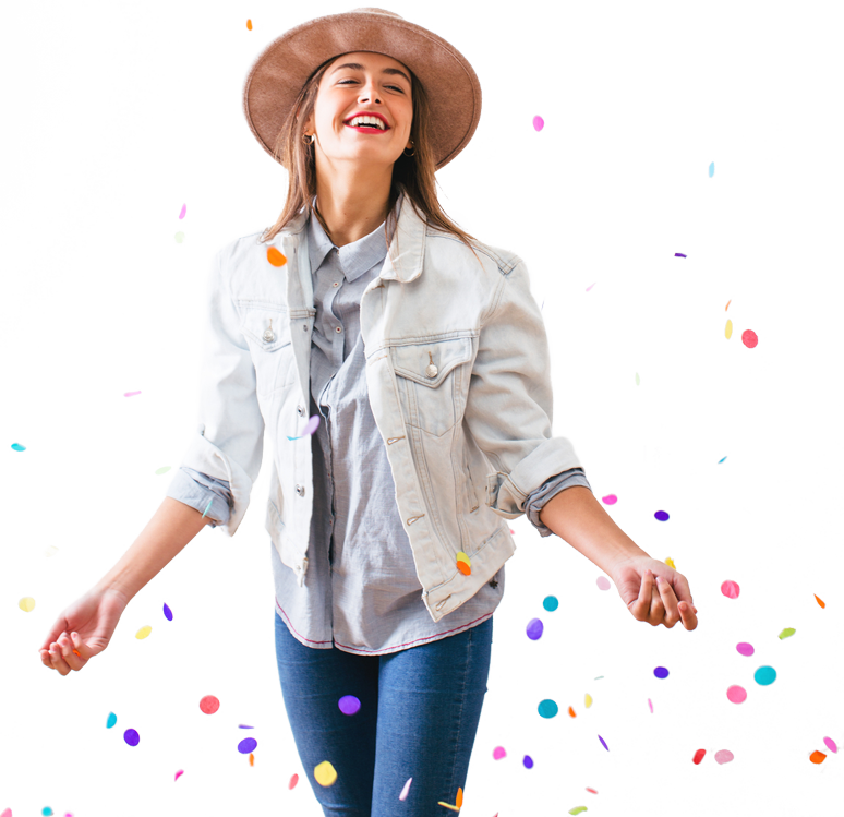 Happy girl png. Download free dlpng
