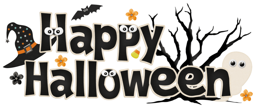 Happy halloween logo png. Download clipar images background