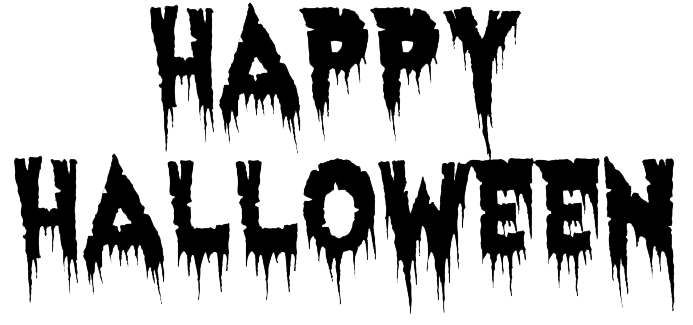 Happy halloween background png. Download free text transparent