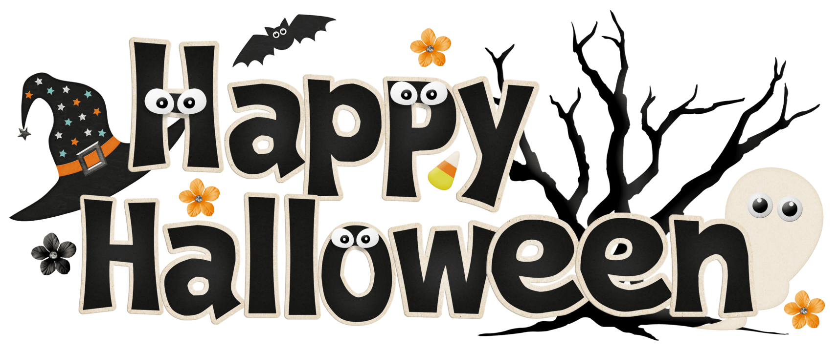 Happy halloween background png. Funny banner photos