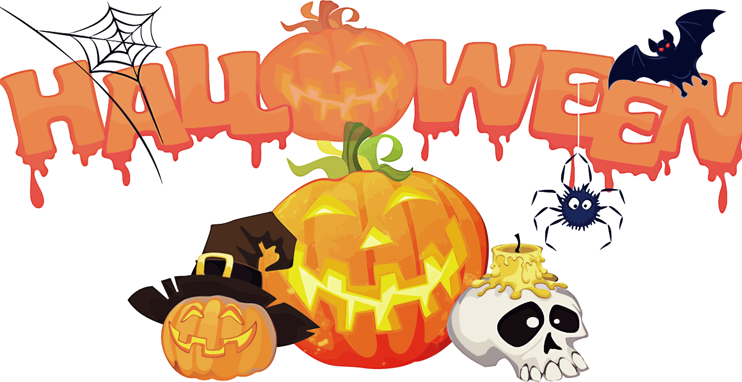 Happy halloween background png. Decorations icons free and