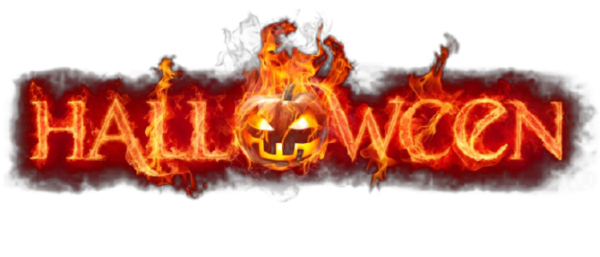 Happy halloween logo png. Awesome horror games to