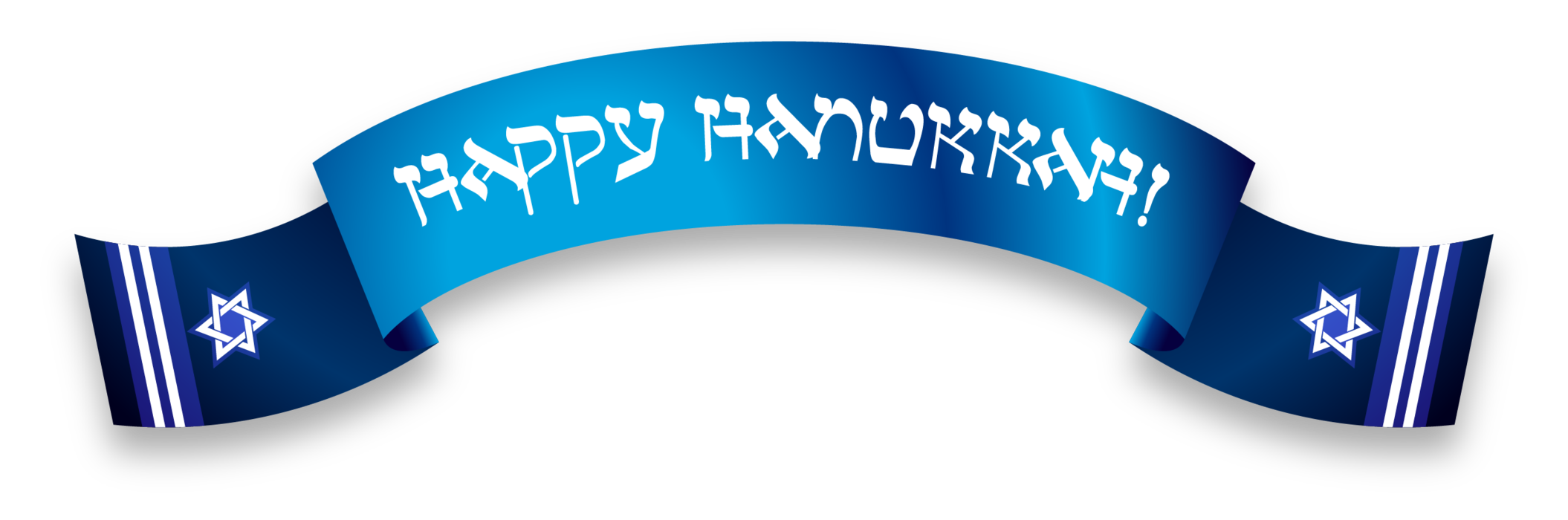 Happy hanukkah png. Banner
