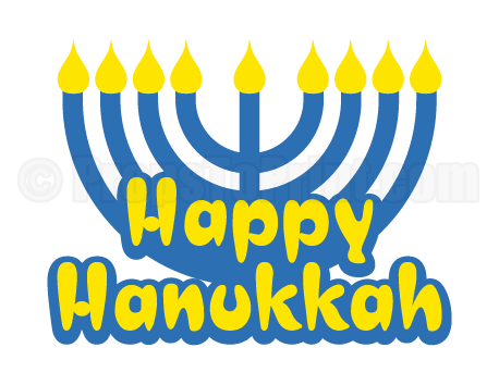 Happy hanukkah png. Photo booth prop