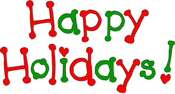 Happy holidays clipart png. Collection of holiday