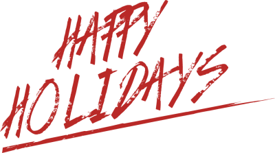 Happy holidays clipart vintage. Black and white christmas